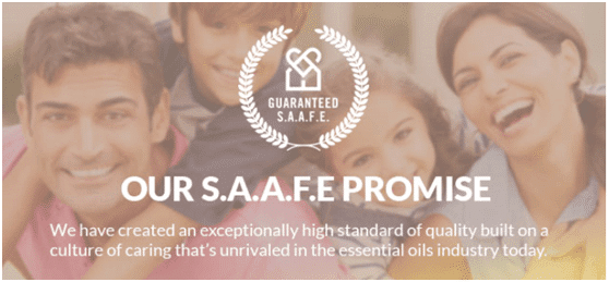 S.A.A.F.E. Promise™ from Rocky Mountain Oils™
