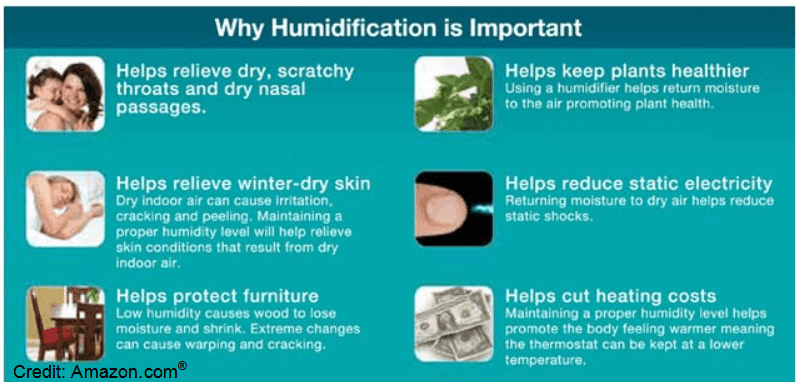 Humidifier Benefits for Your Home