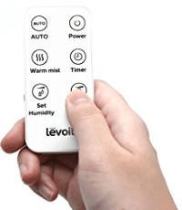 Levoit Ultrasonic Cool- and Warm-Mist Humidifier with Remote