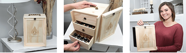 Earth's Gift™ Wooden Essential Oils Storage Box